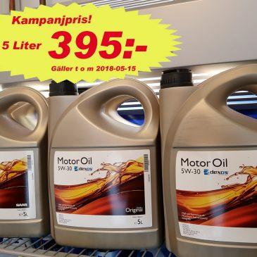 Dags att byta olja?